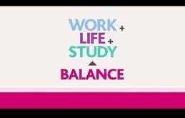 balancing studylife and work