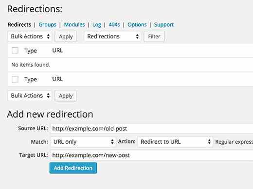 redirection plugin 2