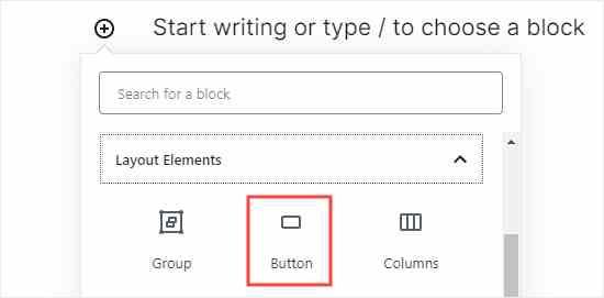 choose button block