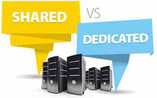 difference between Shared Hosting and Dedicated server