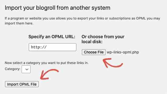 import-blogroll
