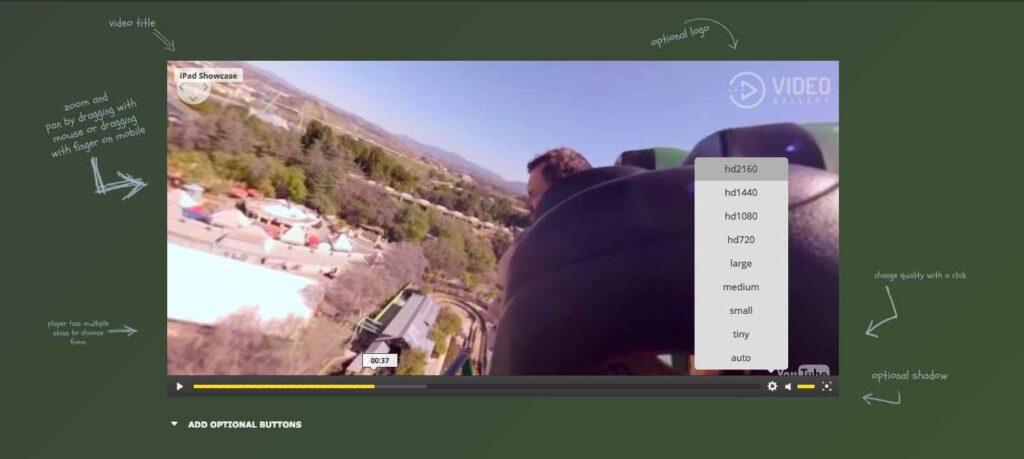 Video Player 360 WordPress