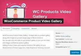 commerce video gallery
