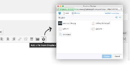 Dropr Dropbox Plugin For WordPress