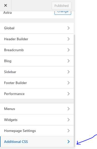 WordPress customizer to additional CSS