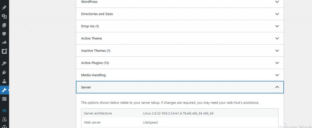 php update using wordpress